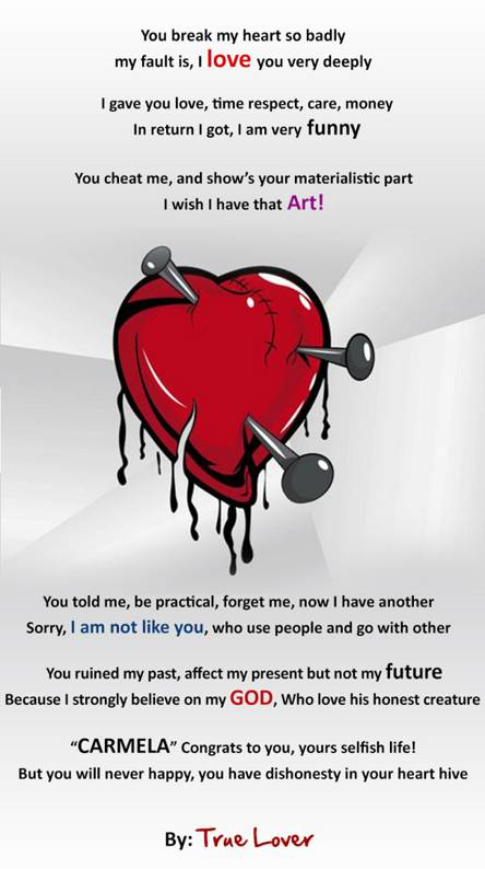 Broken heart quotes Wallpapers - Free by ZEDGE™