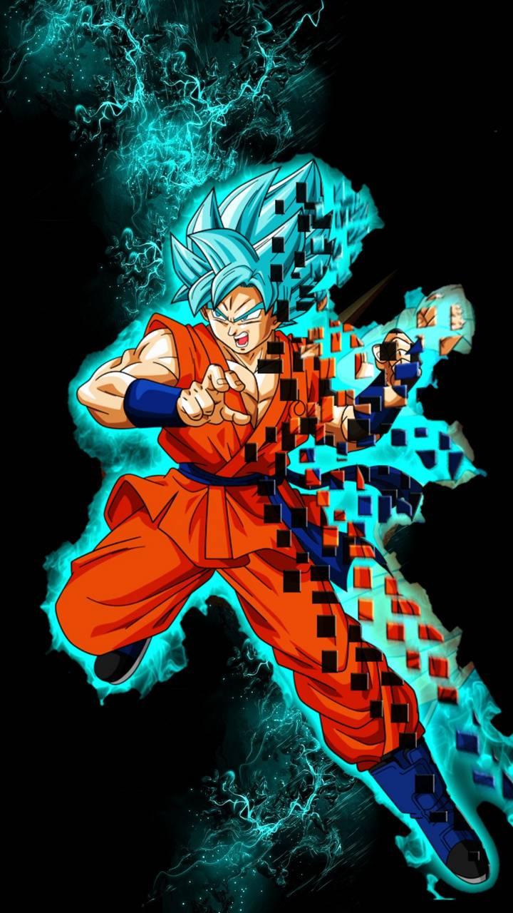 Goku blue super
