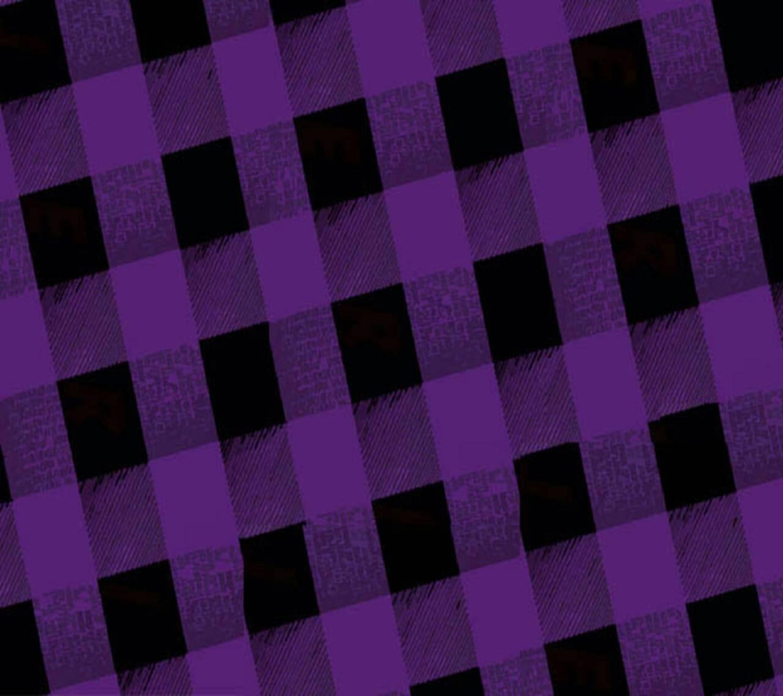 Purple Black Squares
