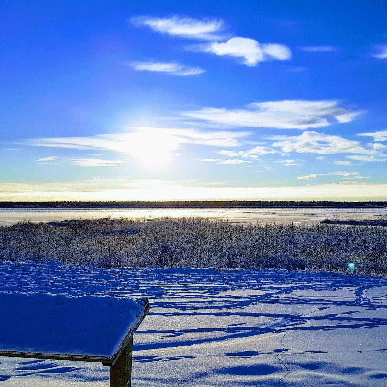 Sunny day in the NWT