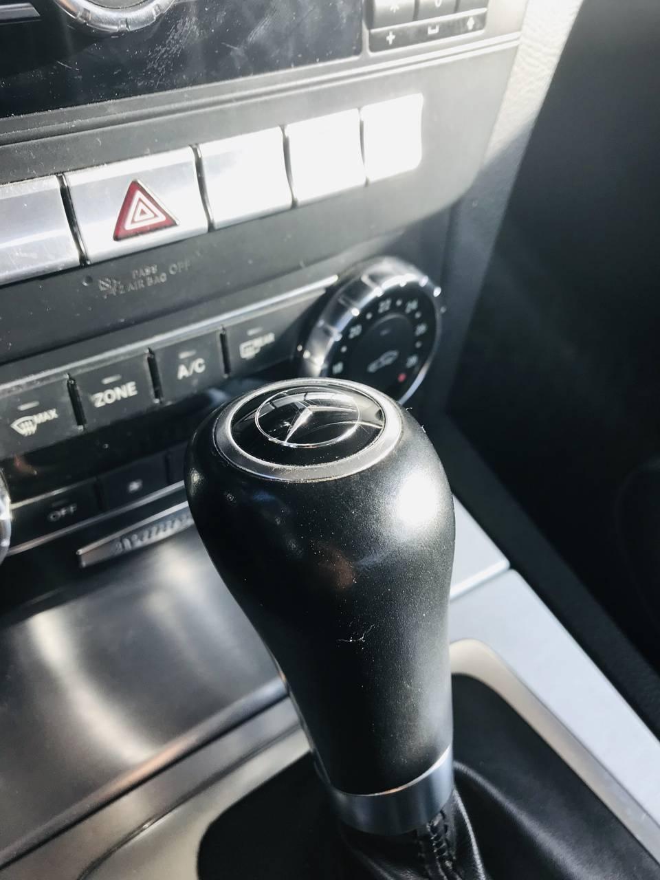 Mercedes console 2
