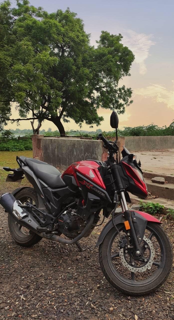 Honda bike duke