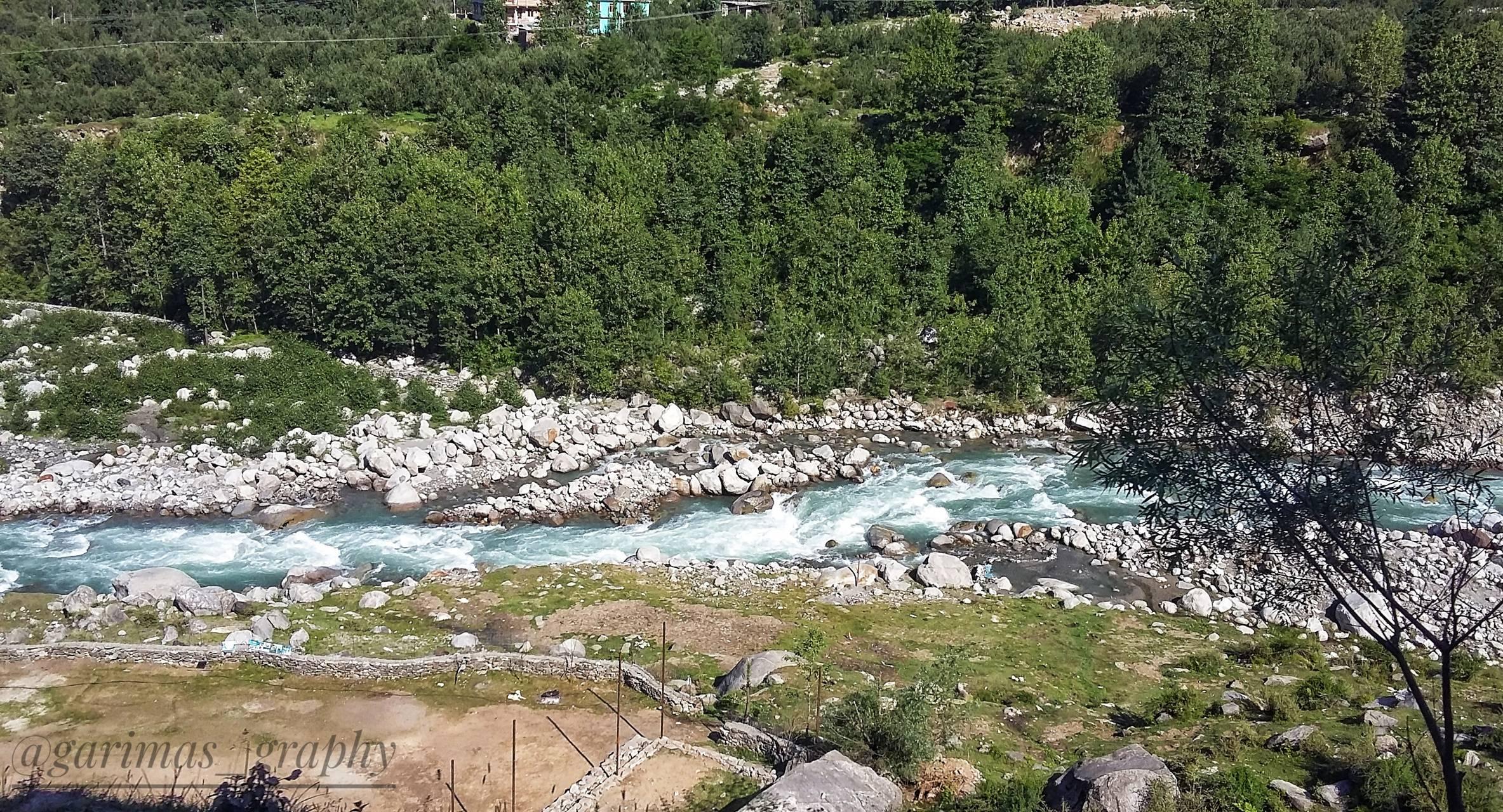 Manali river view