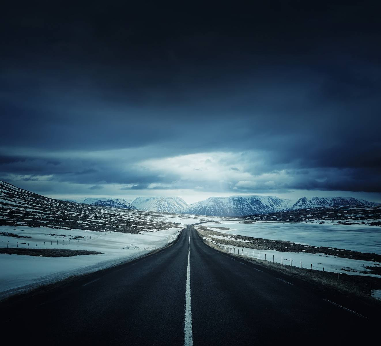Dark Road Wallpaper By Sachira95