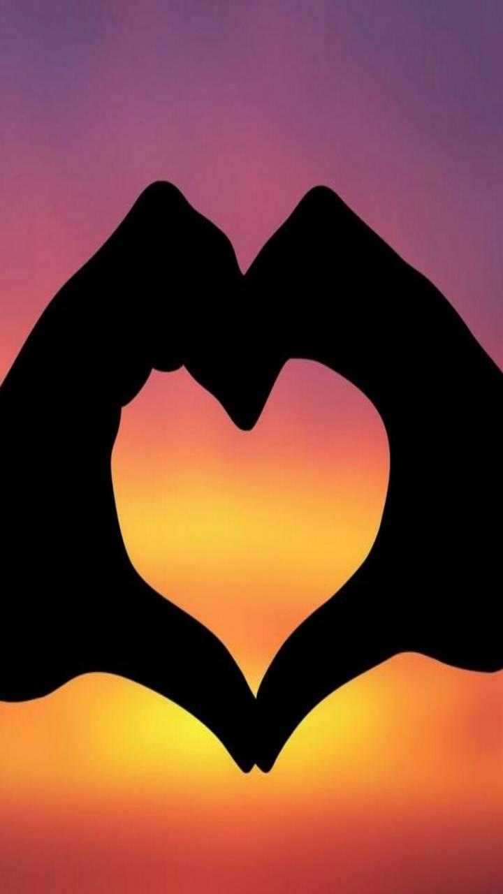 Heart sky love