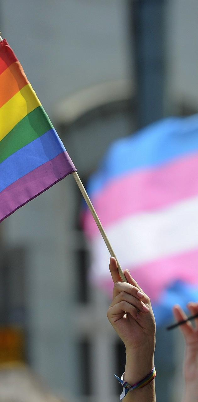 LGBT trans pride