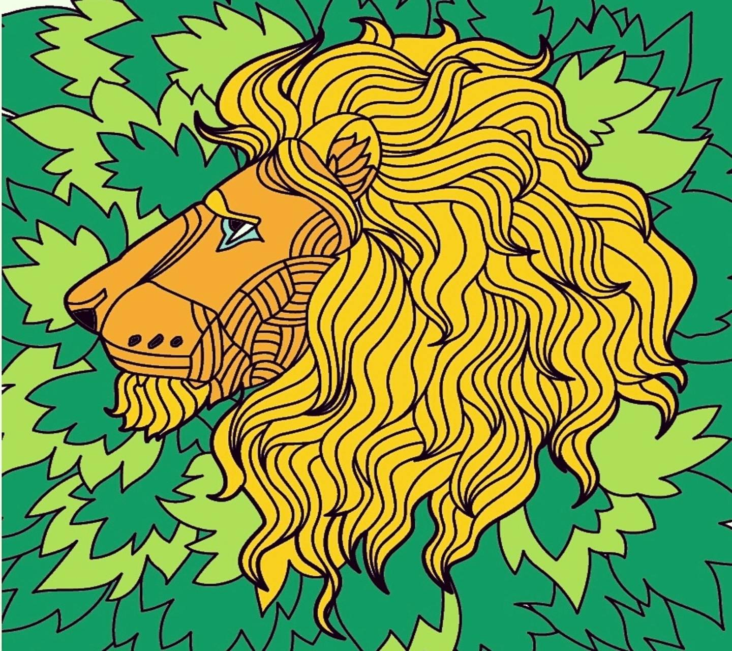 Lions Painted Me