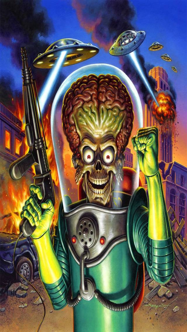 Mars Attacks Wallpaper By Moviez16 F2 Free On Zedge