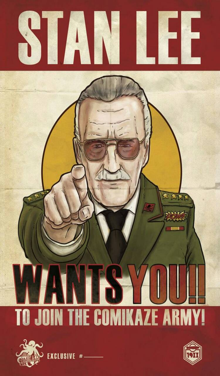 Stan Lee wants you