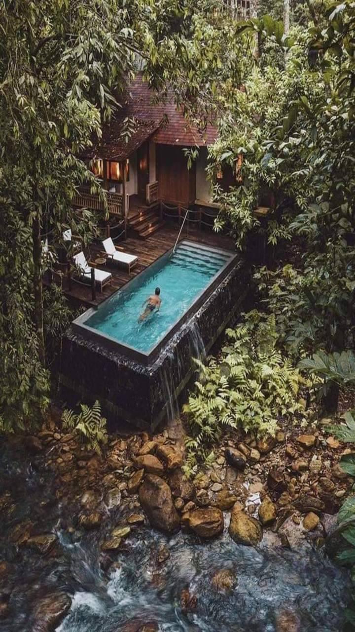 Relaxing Swim