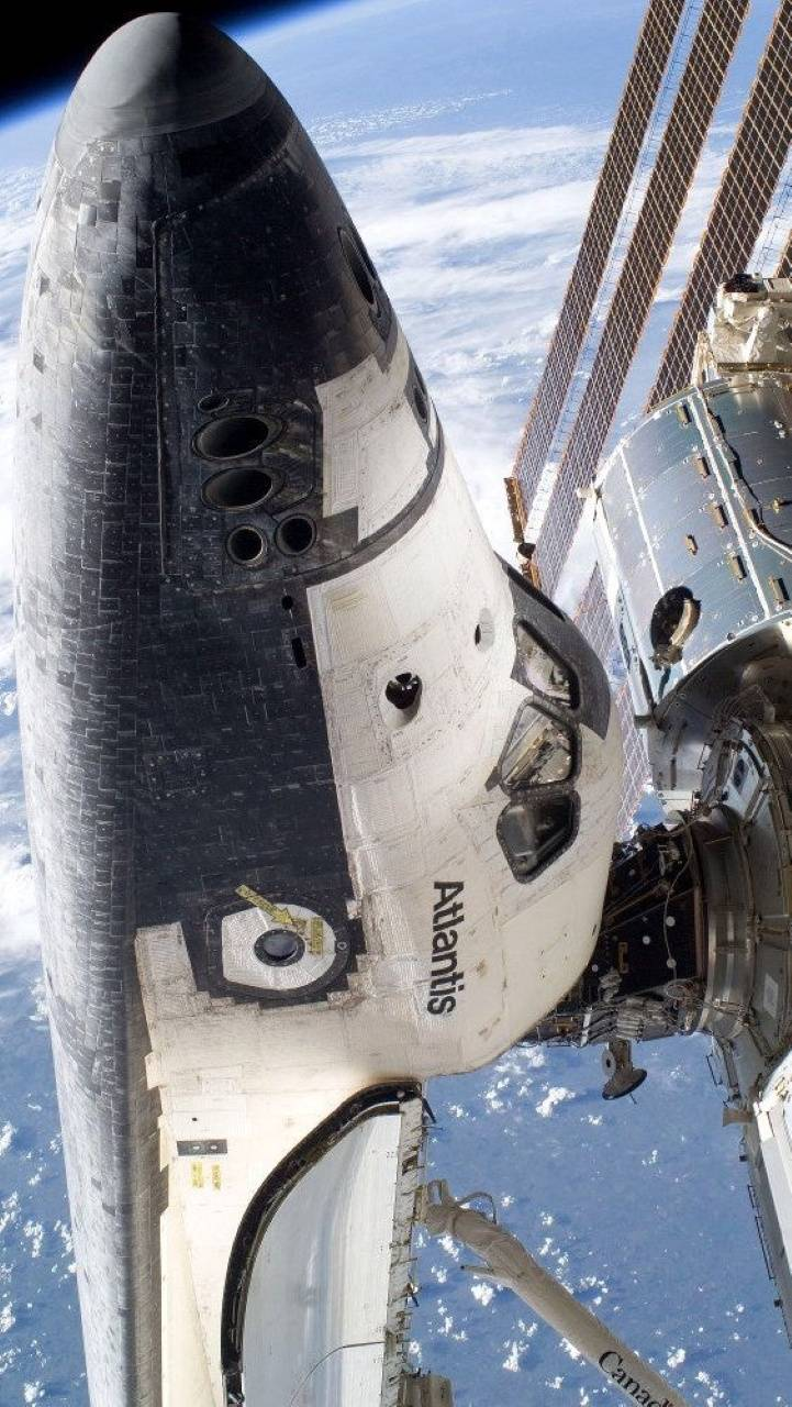 Atlantis ISS