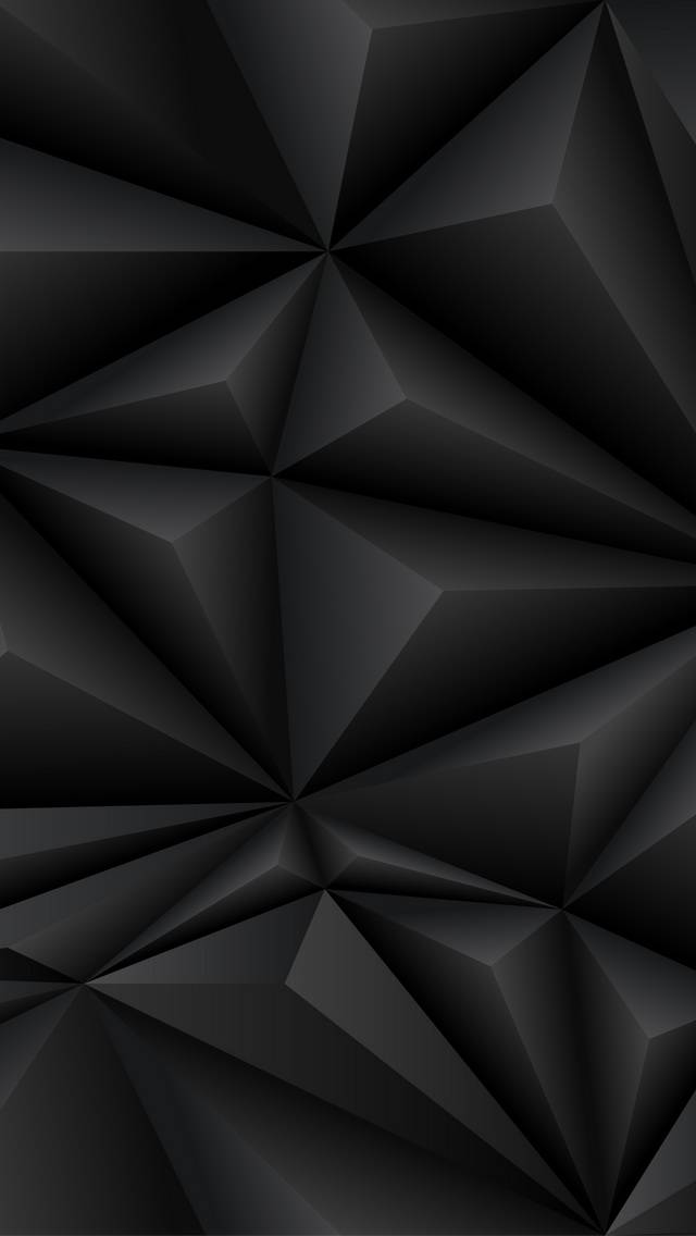 Black Polygons