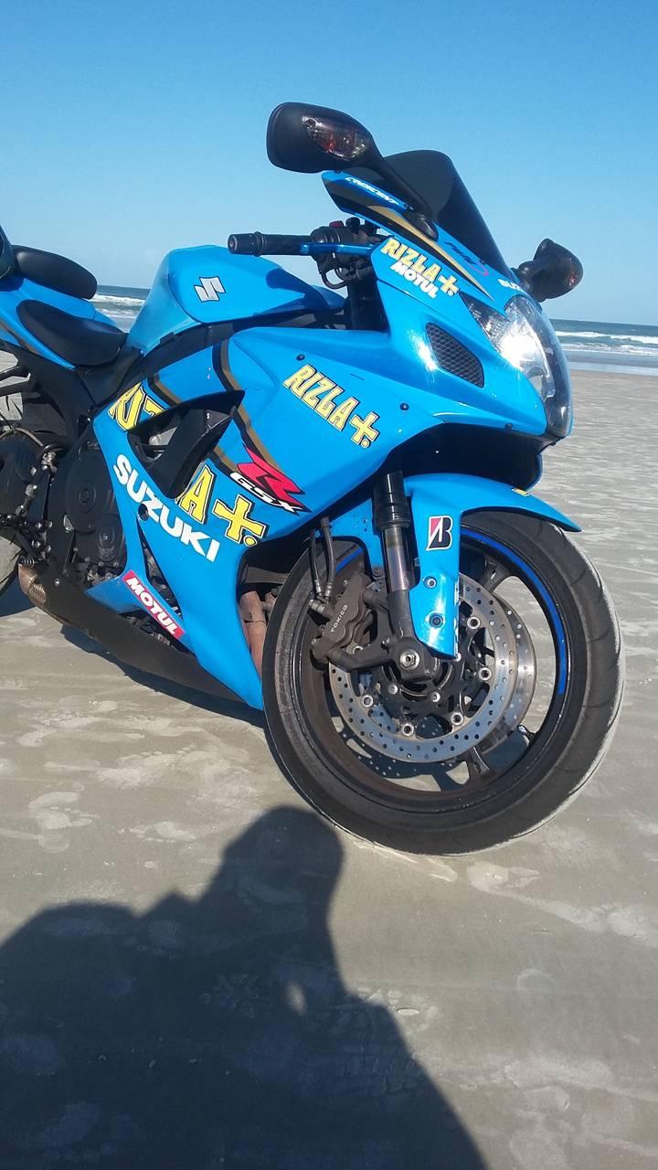 GSXR on the Beach