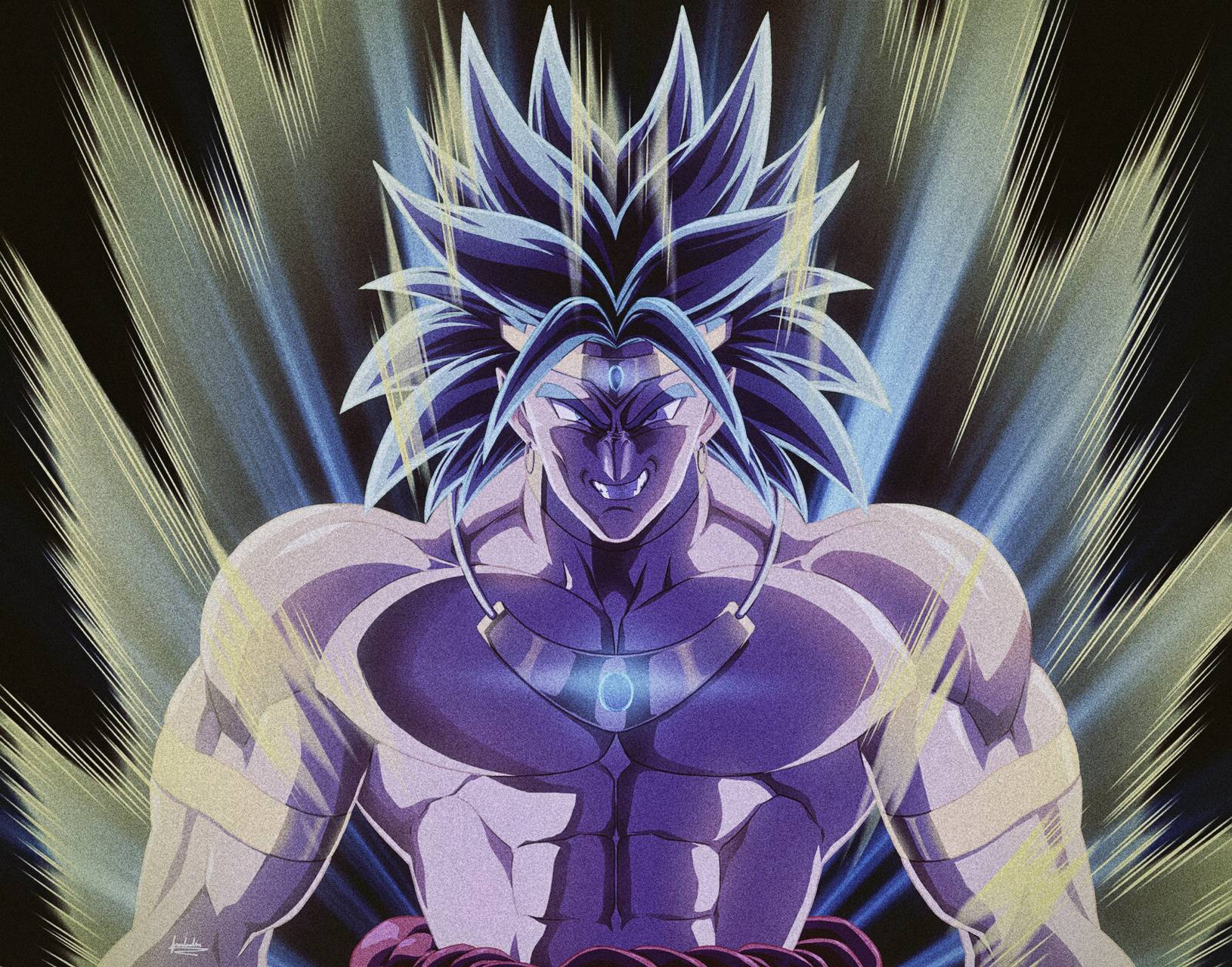 Broly Power Up