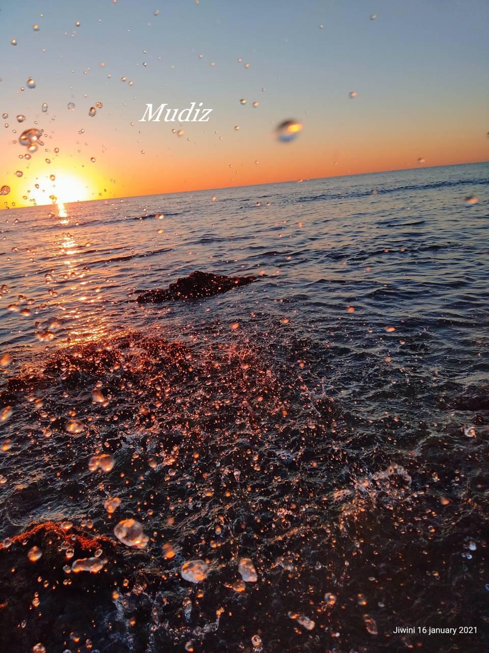 Jiwini sunset gwadar