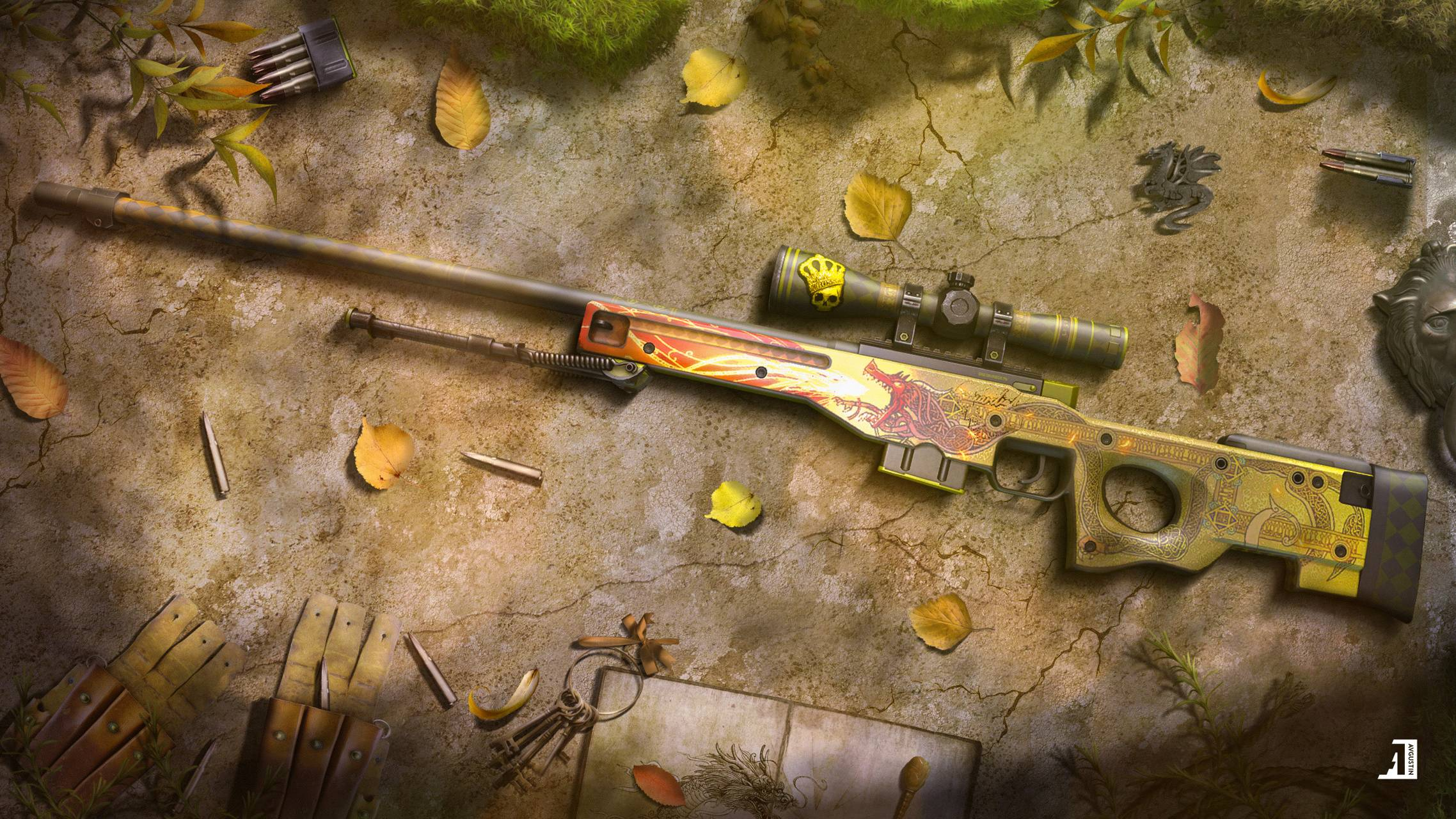 AWP - Dragon Lore Wallpaper by Avgustina_ - 79 - Free on ZEDGE™