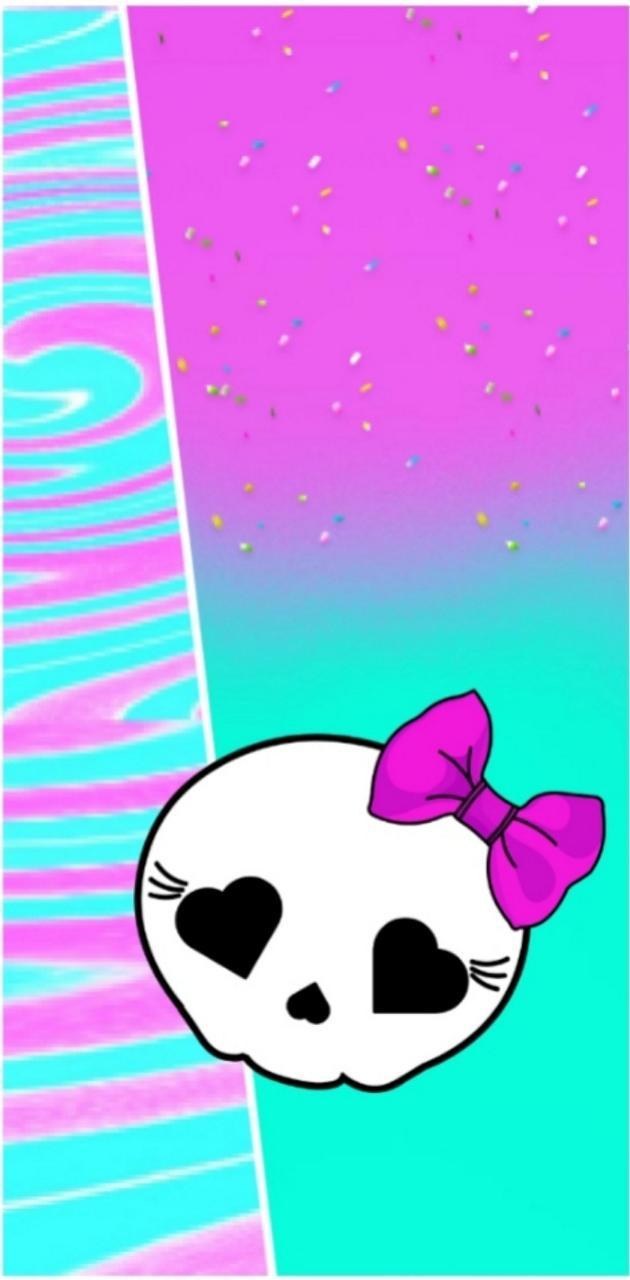 Girlie little skull