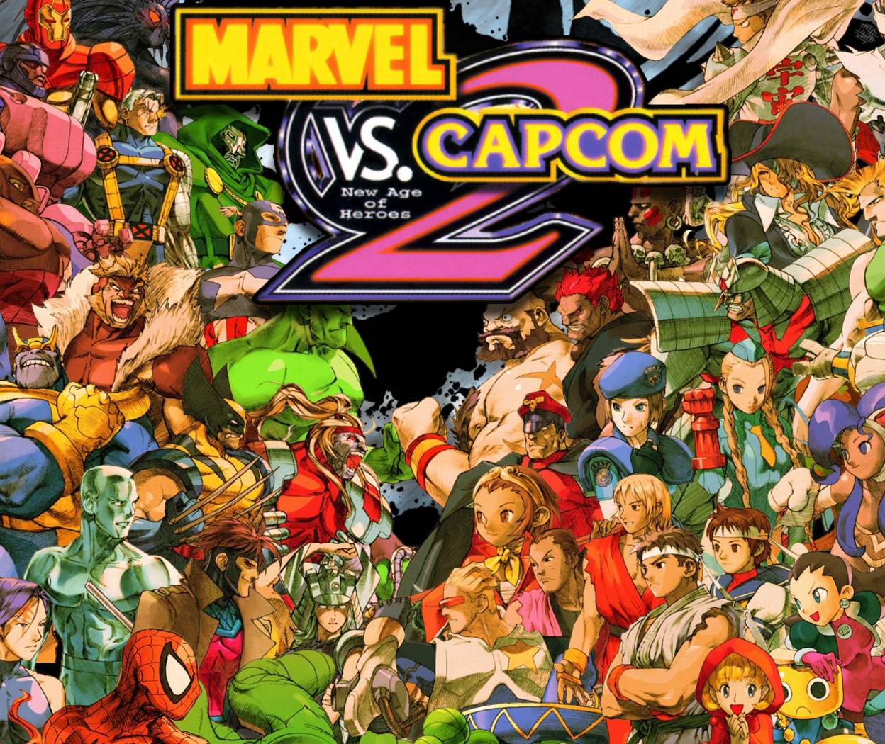 Marvel Vs Capcom 2 Wallpaper By Goliath77 Ee Free On Zedge
