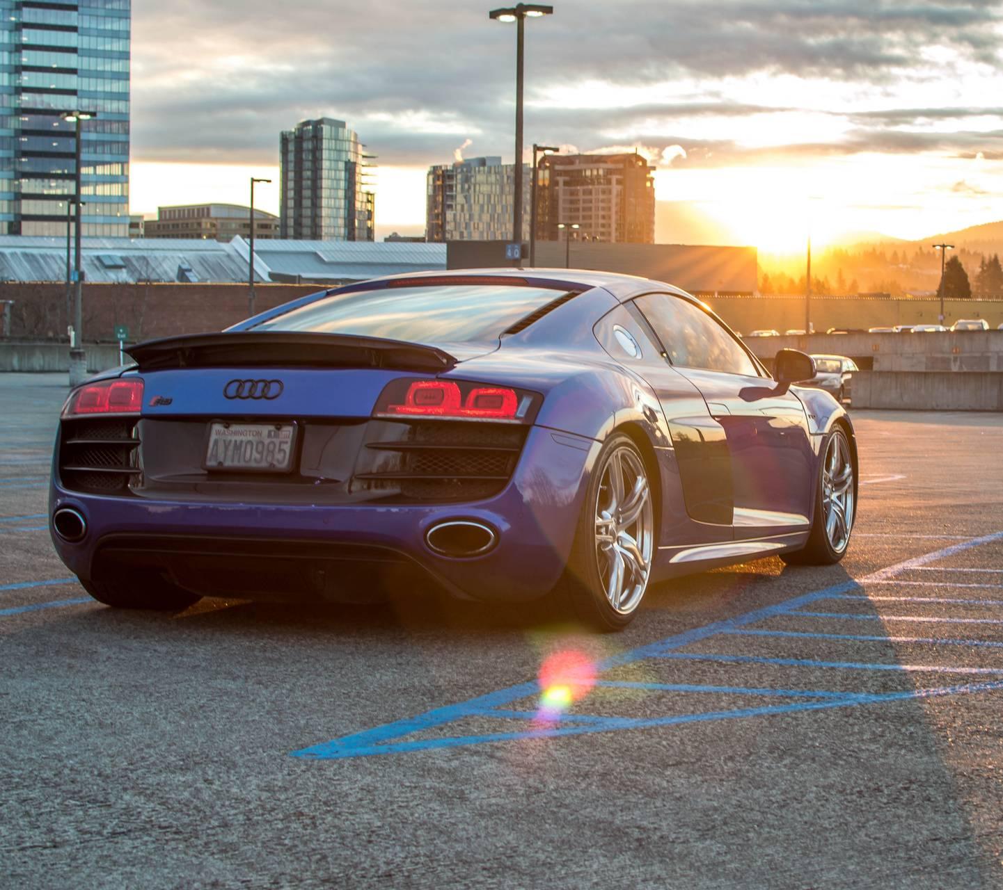 Audi R8 Sunrise