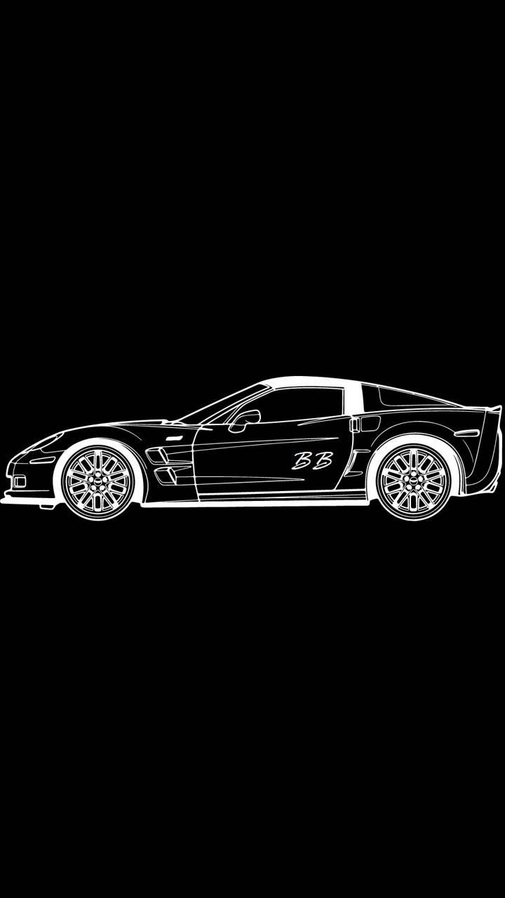Corvette Drawng