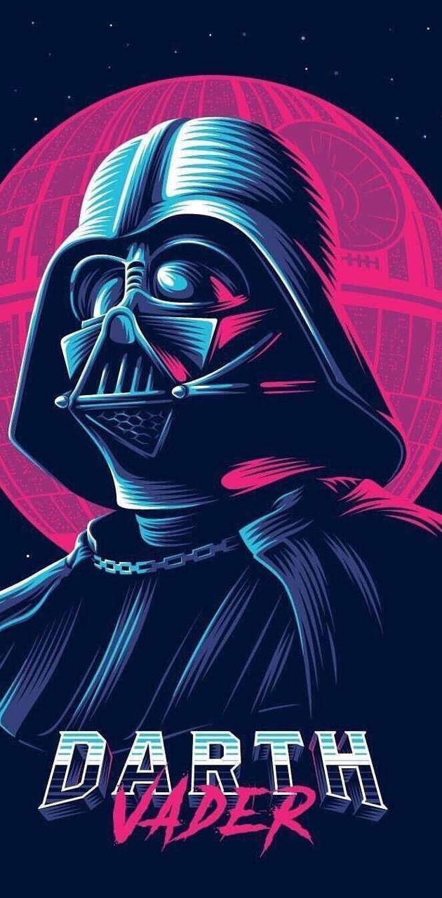 Retro Darth Vader