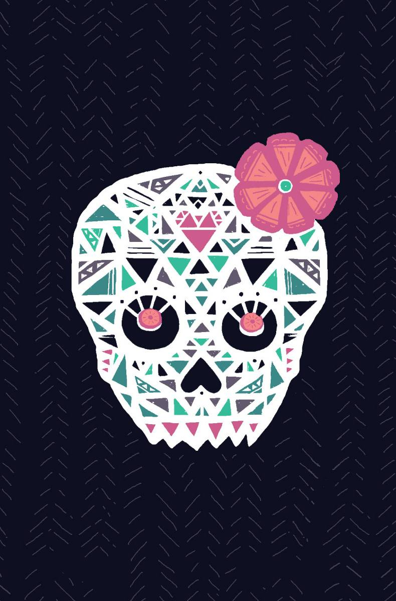 Pink Sugar Skull Wallpaper By Didiluv 29 Free On Zedge