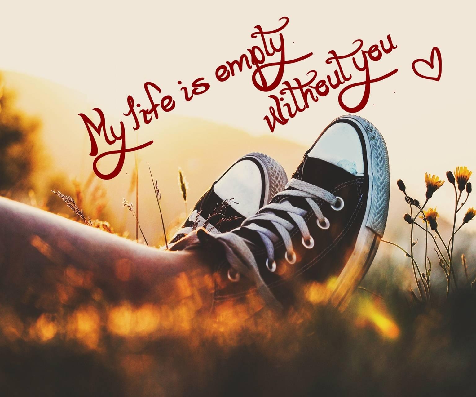 my lifes empty
