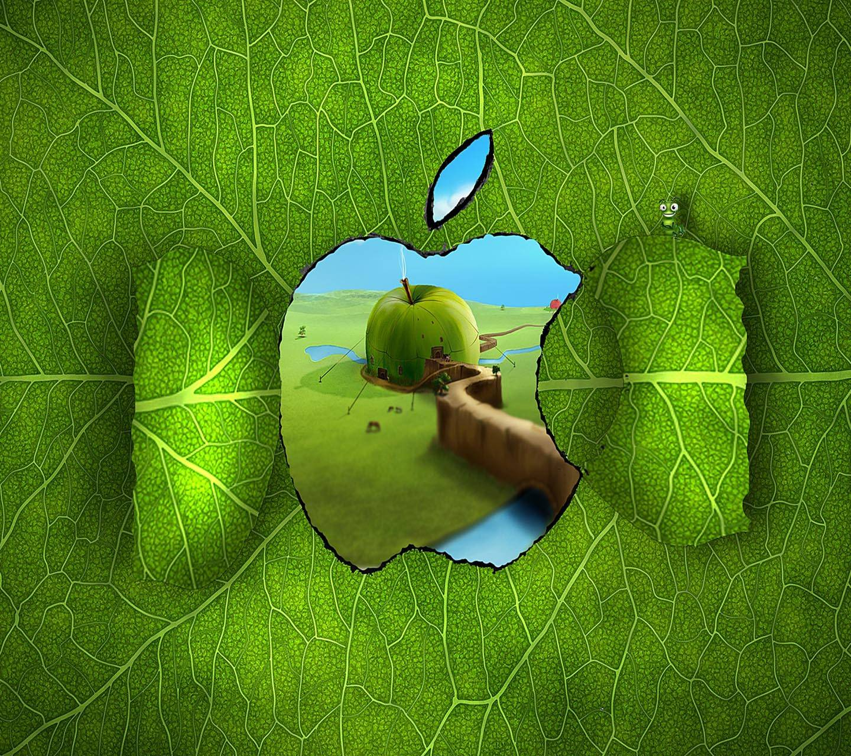 Apple Logo Window