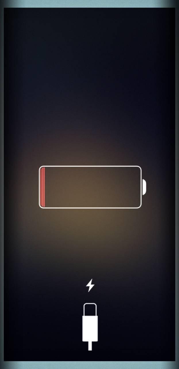 Low battery screen
