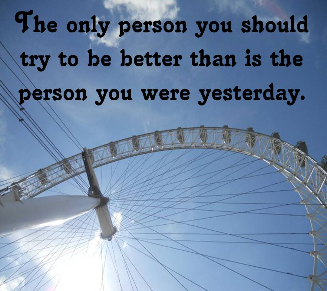 Quote-Better Person