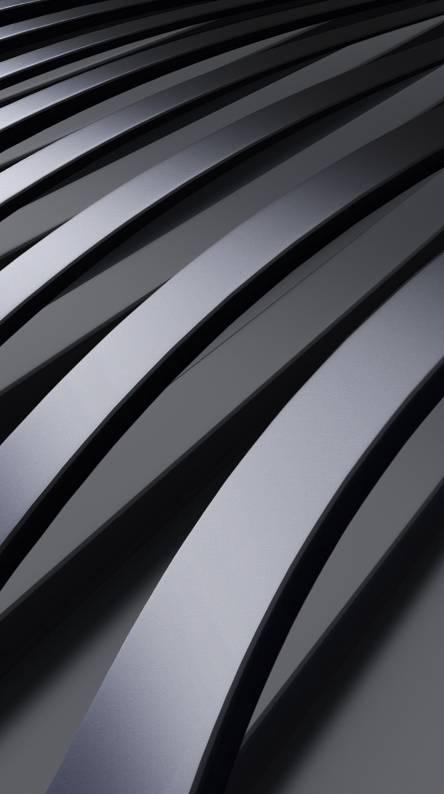 Curved metal