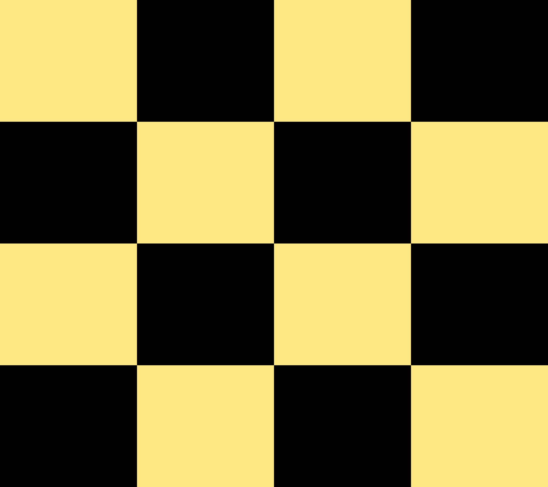Yellow Black Square