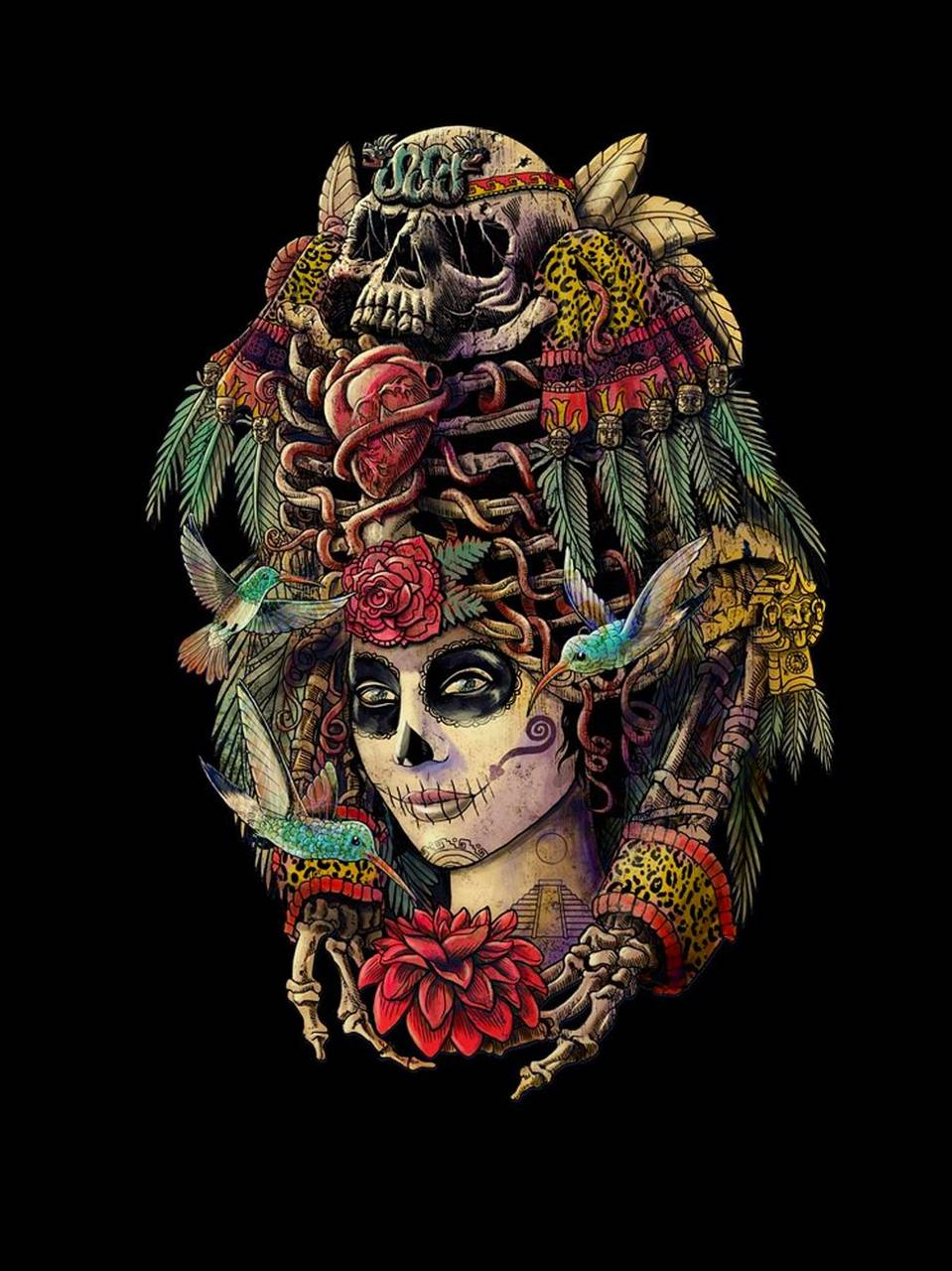 Day Of The Dead Wallpaper By Hende09 7d Free On Zedge