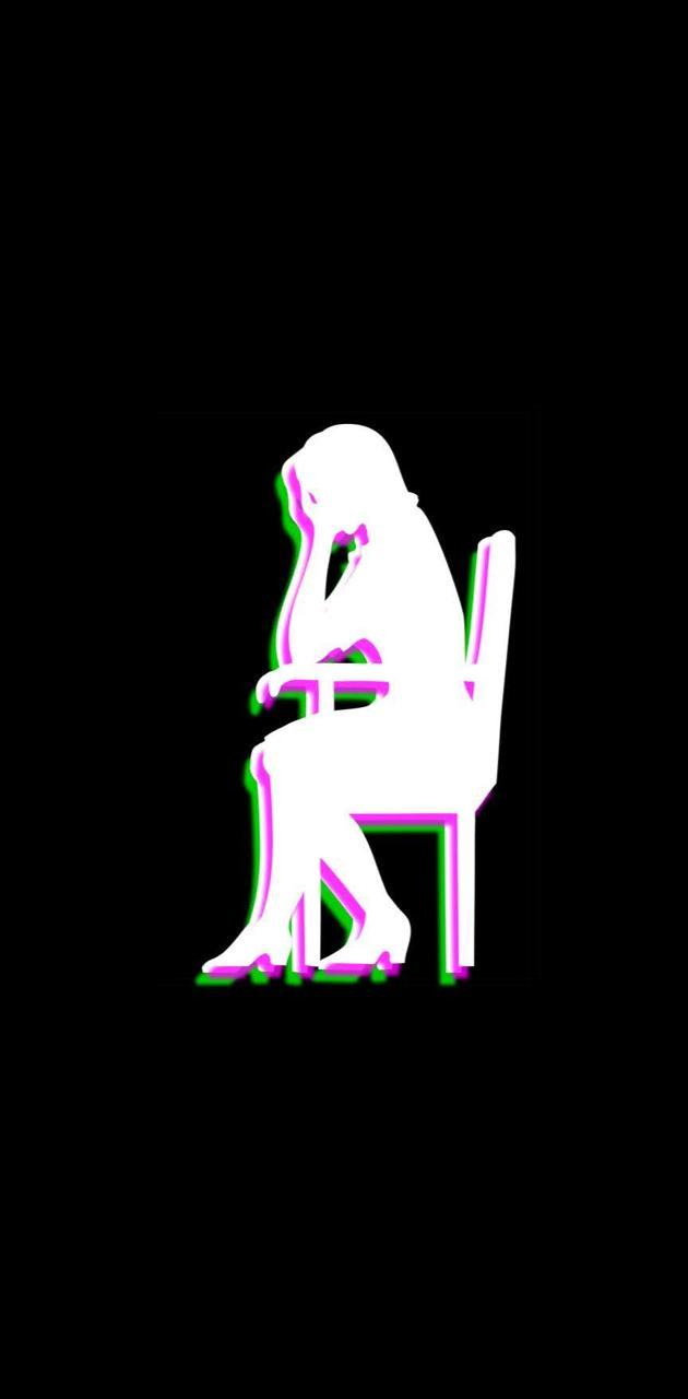 Sad Figure 3D