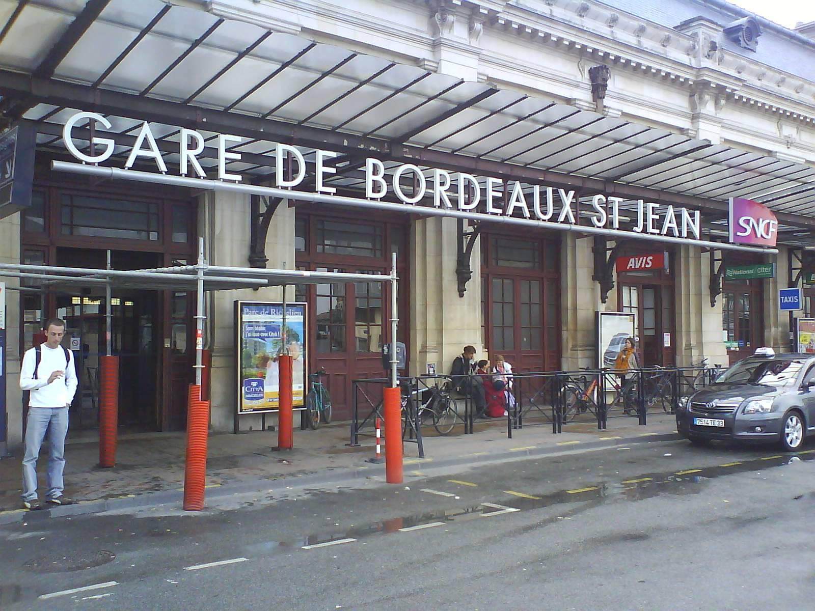 Gare Bordeaux
