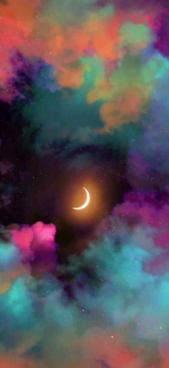 Trippy sky