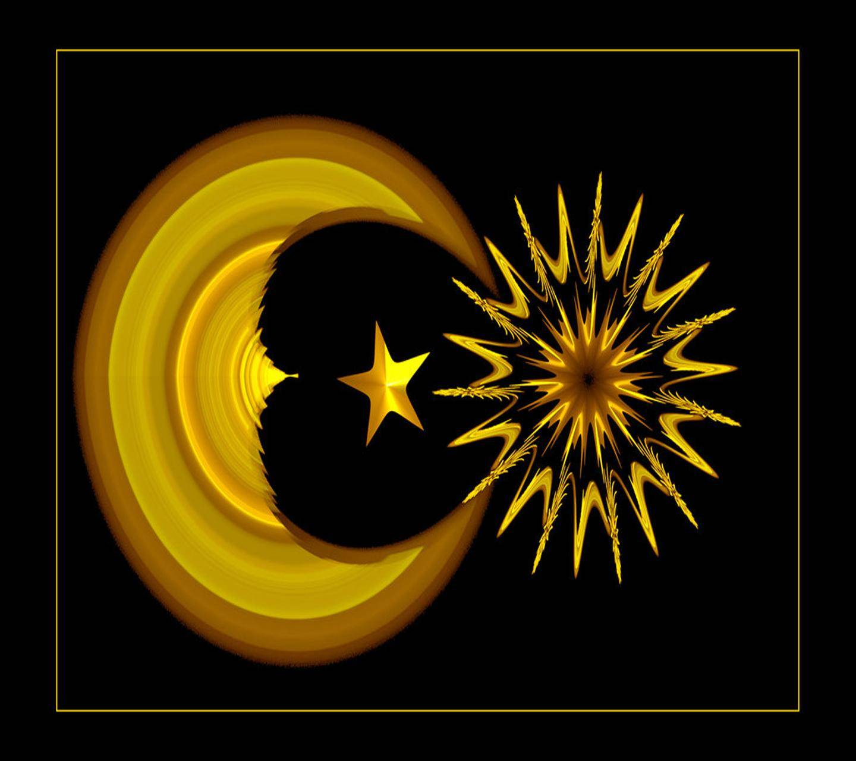 Sun Moon  And Star