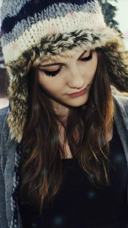 Cute Girl Winter Hat