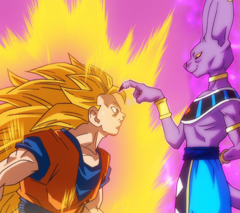 Beerus vs ss3 Goku