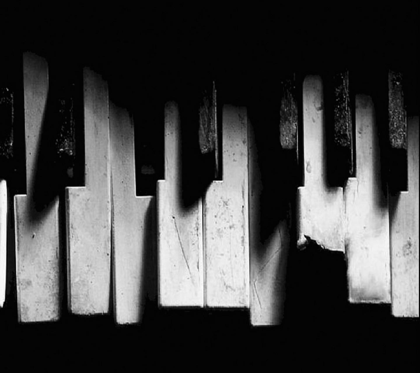 Broken Piano Keys Wallpaper By __JULIANNA__