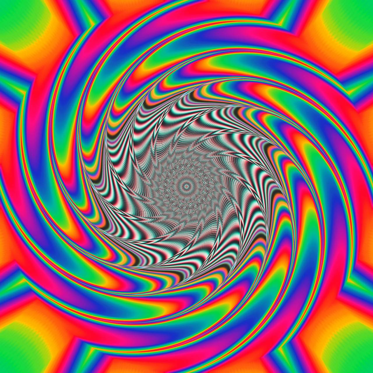 another trippy art