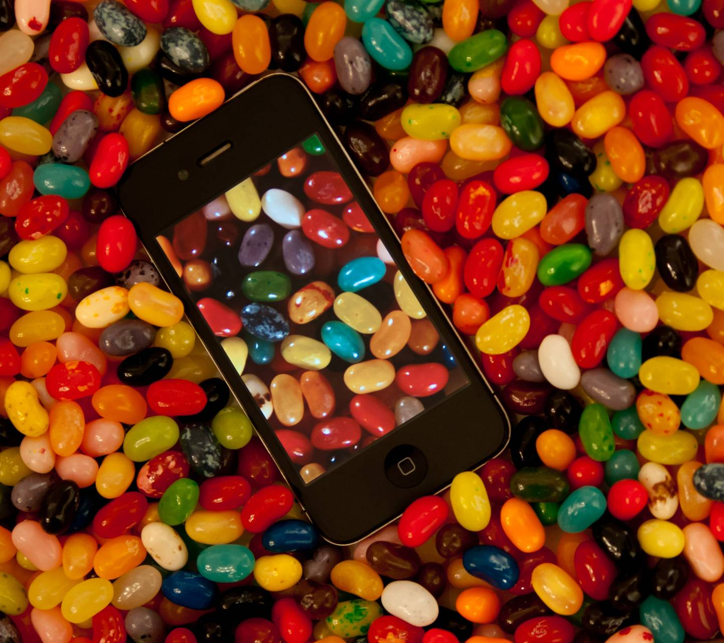 Jelly Bean iPhone