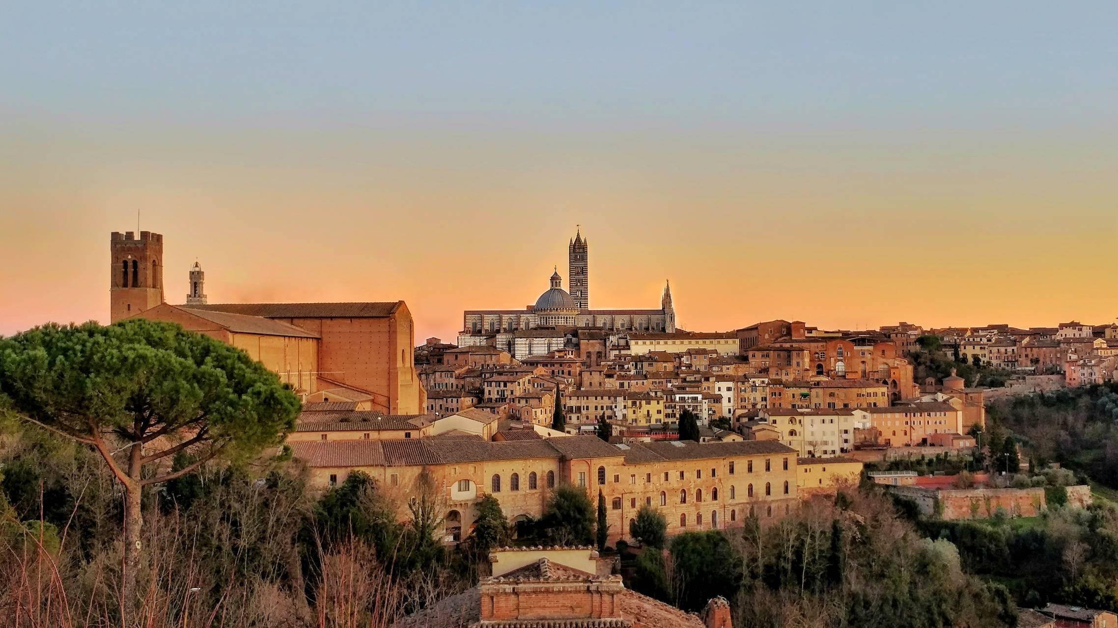 Wiew of Siena
