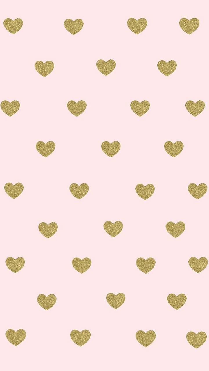 Rose Gold Hearts Wallpaper By Itzmadison 5d Free On Zedge