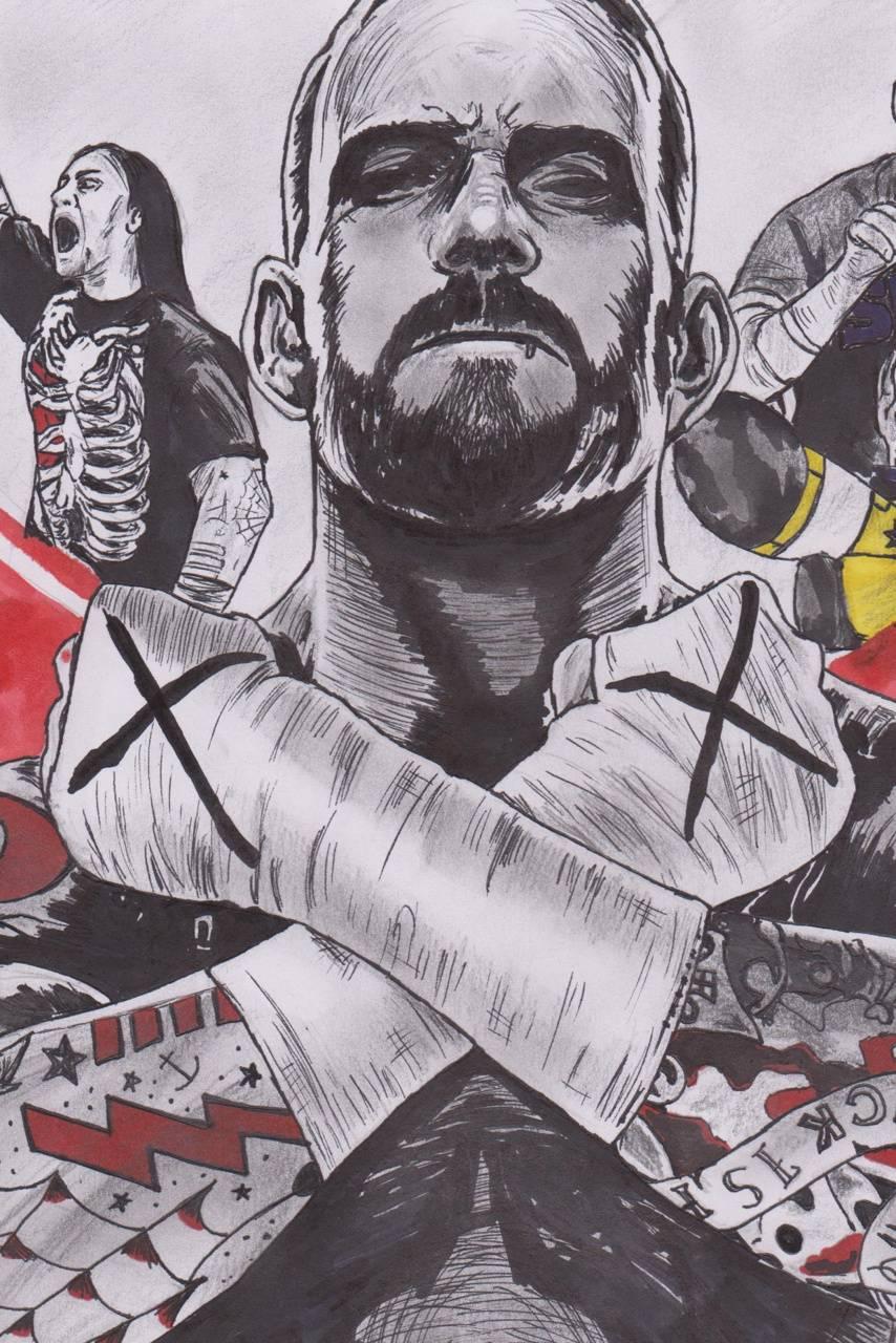 CM Punk wallpaper by CMPunkBSDO - cd