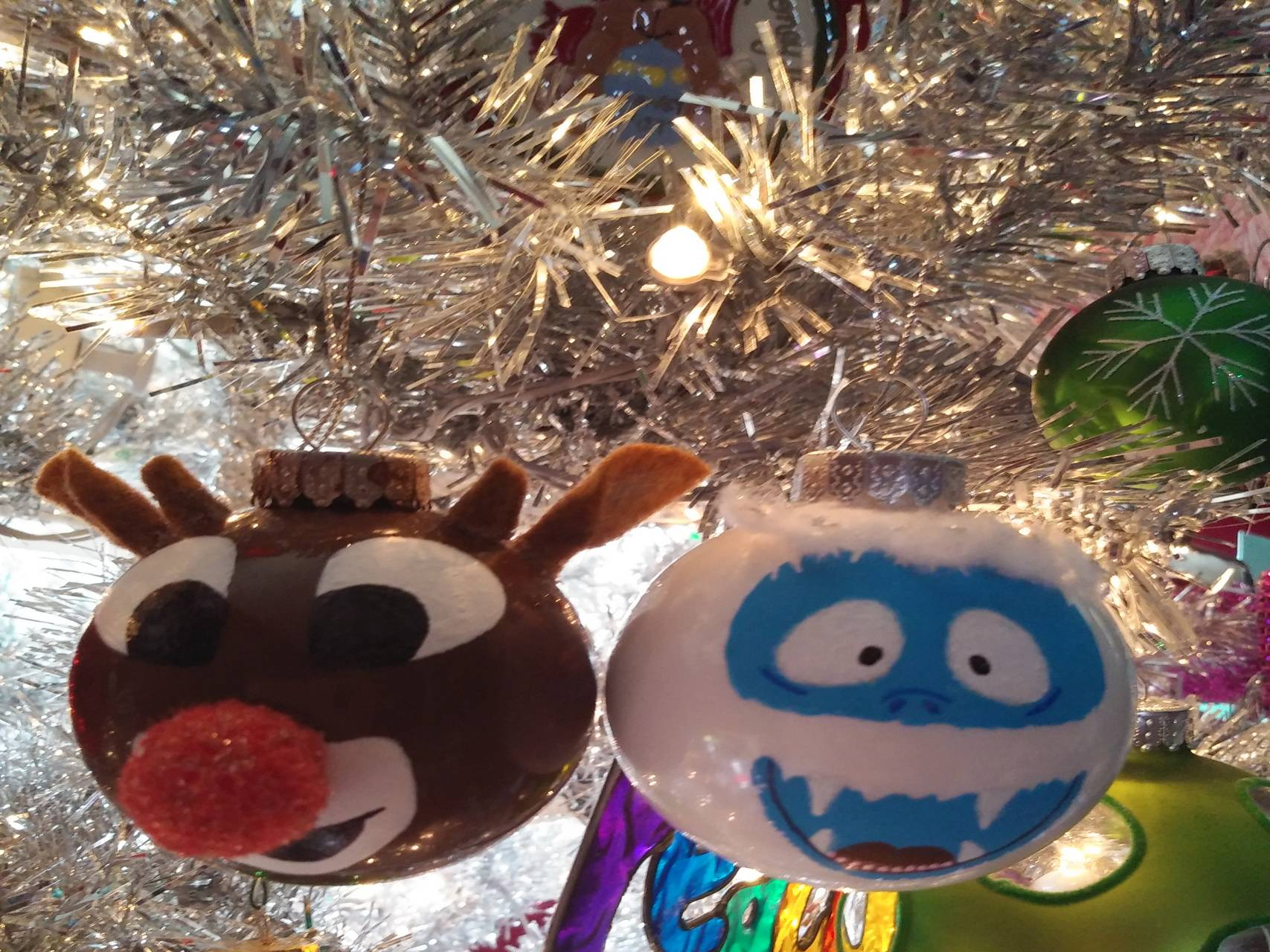 Rudolph and Bumble
