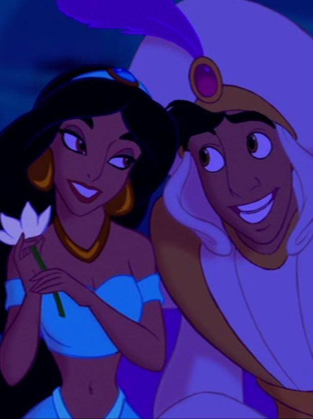 Jasemine And Aladdin