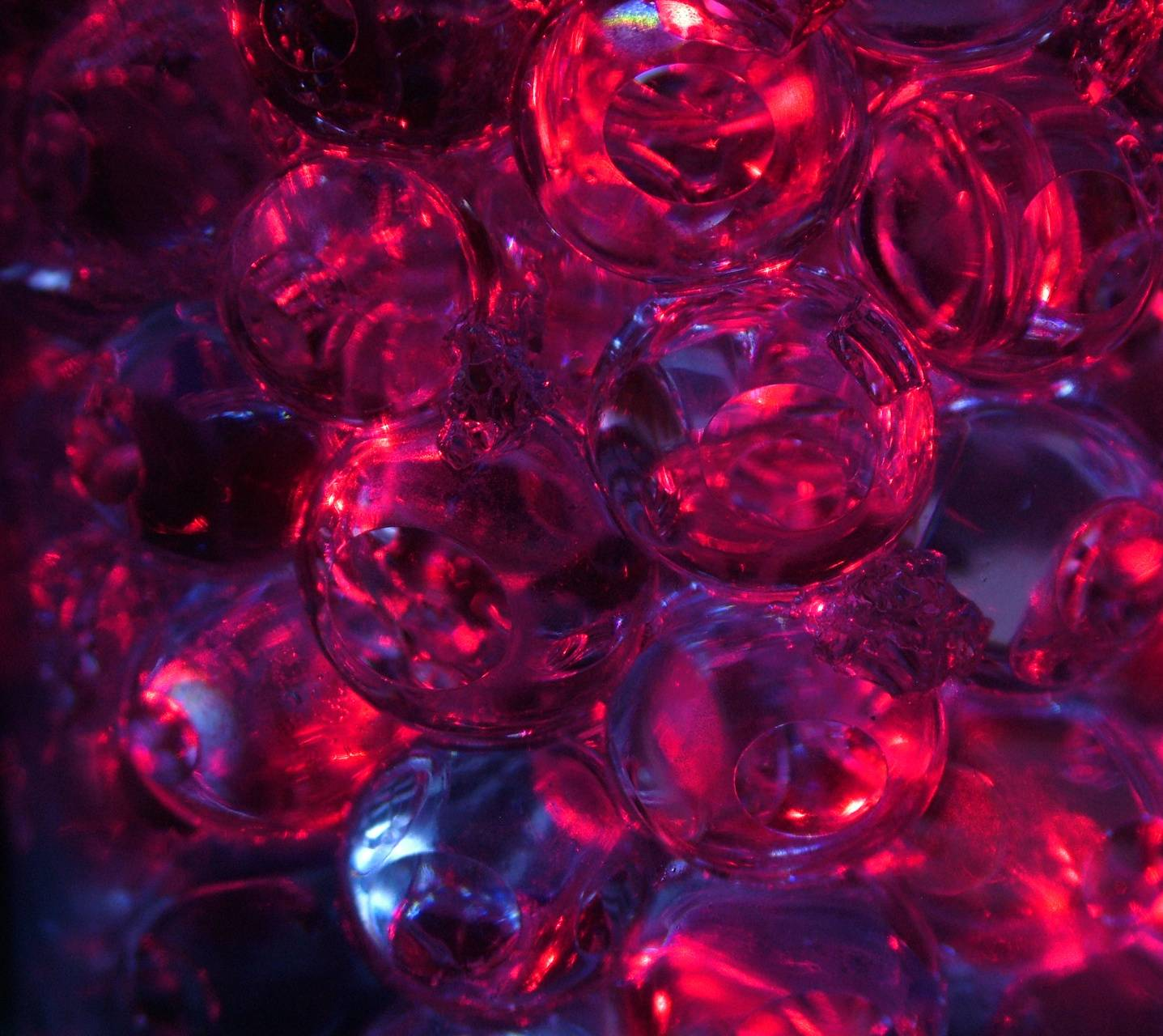 Blue And Red Bubble