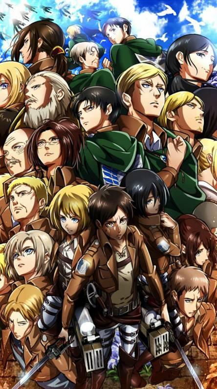 55 Gambar Anime Keren Attack On Titan Terbaik Gambar Anime Keren Terlengkap
