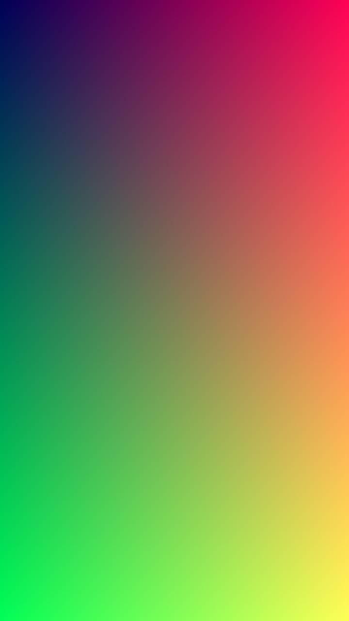 Colours gradient